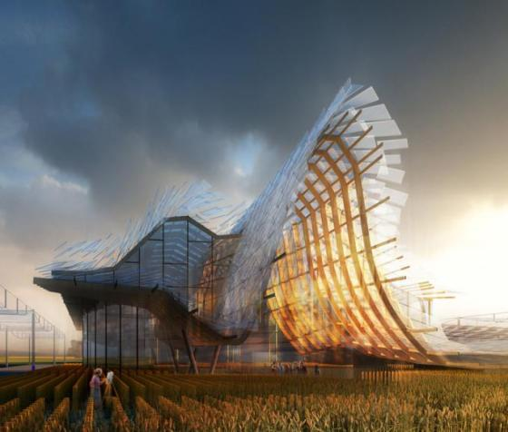 China Pavillion expo 2015 - link-arc+tsinghua university