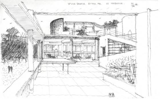 Poissy, Villa Savoye, Le Corbusier