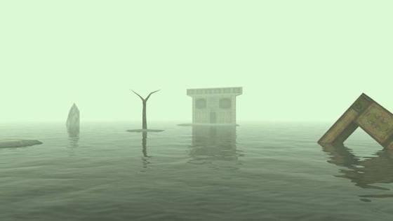 """Escenario de """"El templo del agua"""""""