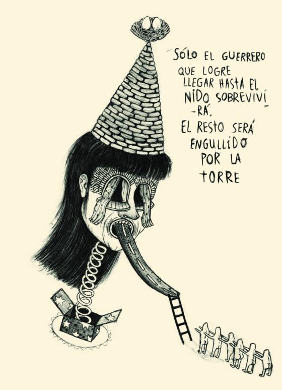 """La torre encantada"". © Ángela Rodríguez Gallego (Sherpahead)"