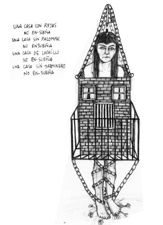 """""""Ladrillo y palomar"""". © Ángela Rodríguez Gallego (Sherpahead)"""