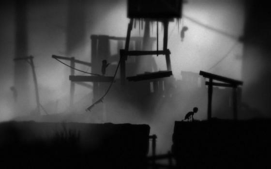 """Escena del videojuego """"Limbo"""""""