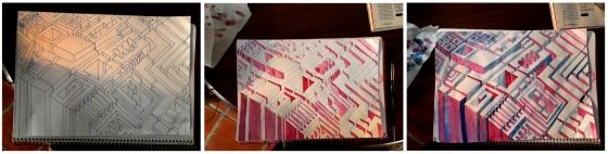 Dibujos de Ana Asensio para un pequeño futuro arquitecto, de ocho añitos