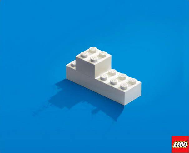 Just Imagine (2012) Cartel Publicitario de The Lego Company