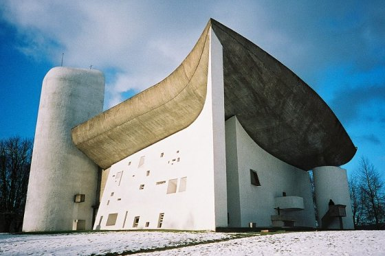Capilla Notre Dame du Haut (1955) Le Corbusier