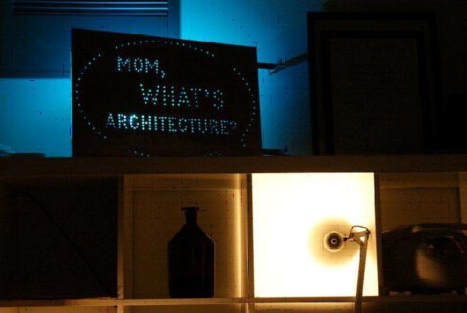 """Mom, what's architecture?"", en la Aalto University ©Ana Mombiedro"