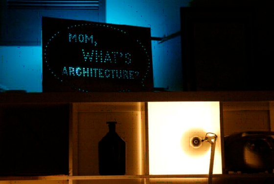 """Mom, what's architecture?"", en la Aalto University ©Ana Mombiedro"
