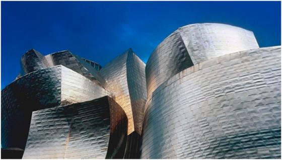 Ahora sí, Frank Gehry en Bilbao.  ©Hugo Alonso