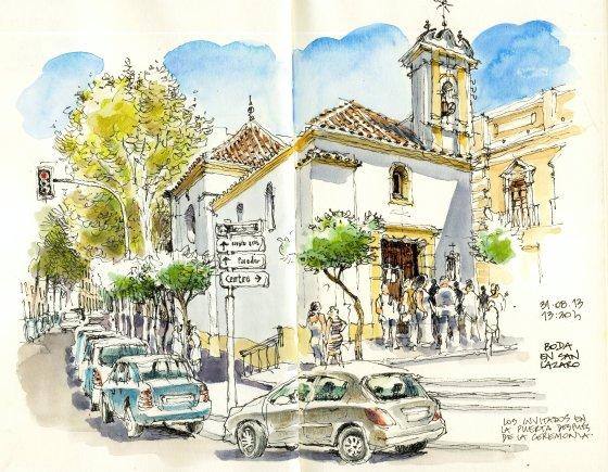 M laga cuaderno de viaje lu s ru z padr n aaaa magazine for Casa de citas malaga