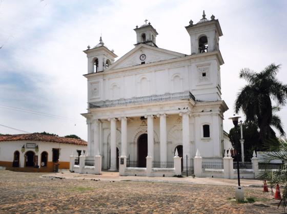 Iglesia Santa Lucia, Suchitoto, Departamento de Cuscatlán.