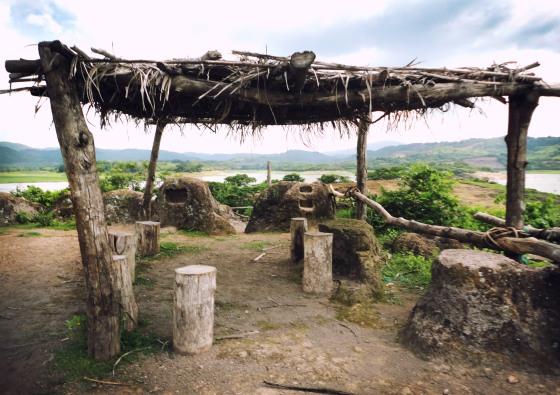 Isla del Ermitaño, Lago de Suchitlán, Departamento de Cuscatlán.