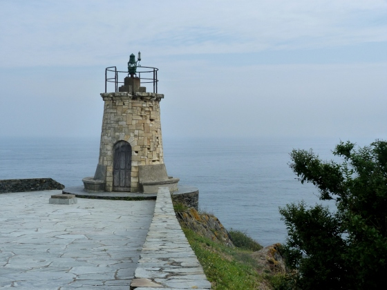 Antiguo faro - Cabo de San Agustín, Ortiguera, Asturias. ©  Simita Fernández