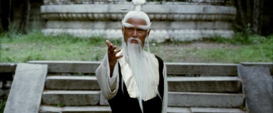 Pai Mei. Fotograma de Kill Bill 2.