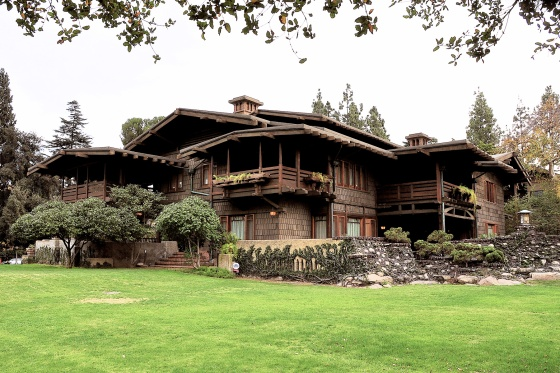 Gamble House, por Greene&Greene, Pasadena, California, 1908