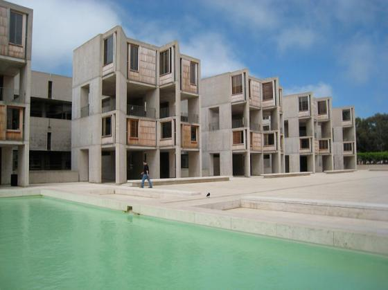 Salk Institute, Lous Kahn, La Jolla, California, 1960.