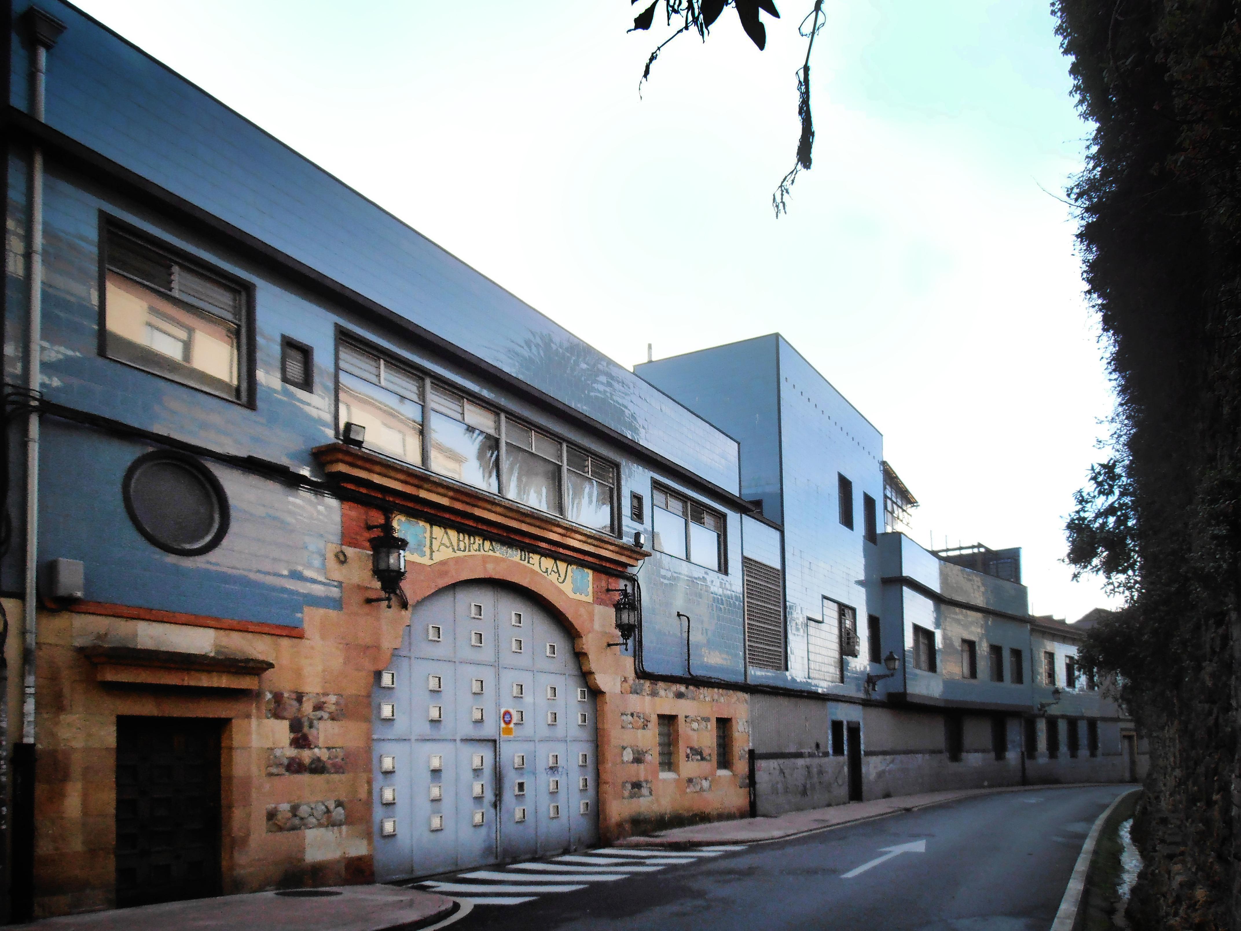 Figura 1. Fábrica de Gas de Oviedo (Asturias).
