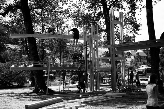 Workshop Endor (Casa en un árbol) EASAzuzemberk 2013