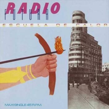 Radio Futura. Escuela de Calor. Pintura de Rafael Pérez Mínguez